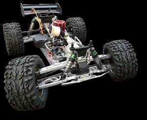 7075 Alu Tuning und Mehr für RC-Cars Carson Specter 2 two ...